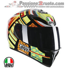 casco Agv k3 sv Valentino Rossi Elements tamaño MS Casco casco integral helm