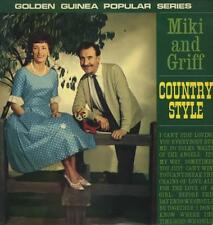 Miki & Griff Country Style vinyl LP album record UK GGL0332 GOLDEN GUINEA 1965