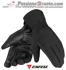 guantes Dainese Boulevard negro motorrad invierno d-dry impermeable guantes