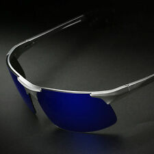 New Aluminum Magnesium Alloy Frame Polarized Sunglasses for Men Driver Glasses
