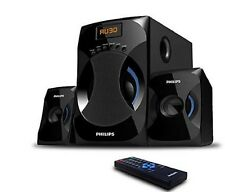 New stylish and attractive Philips MMS-4545B 2.1 Speaker System (Black)