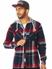 Element Native Red Stander Long Sleeved Hooded Shirt