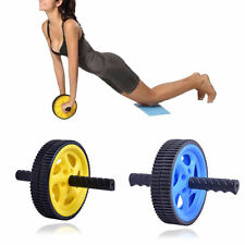 Fashion ABS Abdominal Roller Wheel Workout Exerciser Fitness Gym Roller Exercise