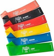 NeeBooFit Resistance Loop Band Set - Best Fitness Exercise Bands for Working ..