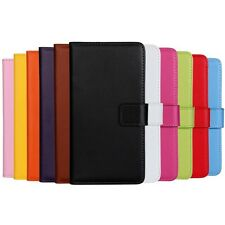 APPLE iPod Touch 6th & 5th Gen New Leather Wallet Flip Case Cover Many Colors