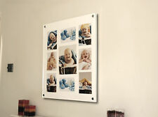 """Cheshire Acrylic 24X28 WALL 10MM PICTURE FRAME for 10X7"""" 6X4 7X5"""" PHOTO pixi"""
