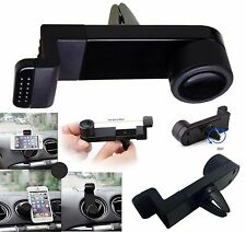 Universal Car Air Vent Clip Adjustable Mount Holder Stand For Mobile Phones UK