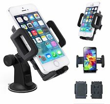 Universal Car Windscreen Adjustable Mount Holder Cradle Stand For Mobile Phones