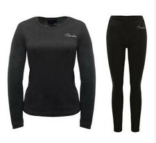 Dare2b INSULATE Black Womens Thermal Base Layer Set (TOP & BOTTOMS) 8 - 20