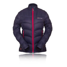 Montane Fem Ice Donna Blu Impermeabile Zip Outdoor Giacca Top