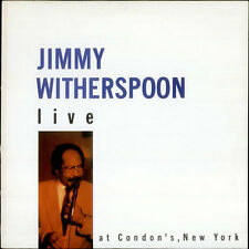Jimmy Witherspoon Live At Condon's vinyl LP album record UK GATE7023 KINGDOM