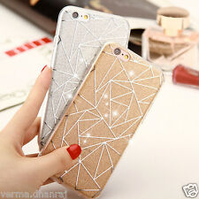 """*NEW STAR GLITTER HARD TPU* Thin Back Cover Case for Apple iPhone 7 PLUS (5.5"""")"""