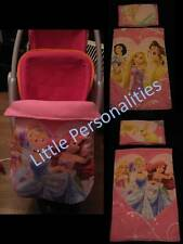 pink princess doll pram cot blanket pillow stayput blanket or doll changing mat