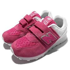 New Balance KV574QPY W Wide Pink White Kid Youth Running Shoes KV574QPYW