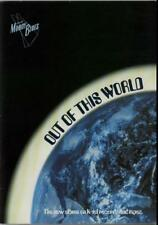 Out Of This World 1979 + Ticket Stubs Moody Blues tour programme UK