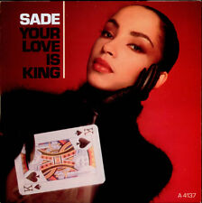 """Sade 7"""" vinyl single record Your Love Is King UK A4137 EPIC 1984"""