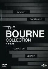 5053083002312 UNIVERSAL PICTURES DVD BOURNE COLLECTION (THE) (4 DVD) 2002 FILM -