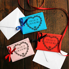 Personalised Gift Voucher Coupon Book Christmas Present Stocking Filler Him Her