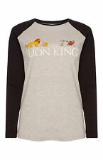 PRIMARK DISNEY THE LION KING SIMBA AND FRIENDS LONG SLEEVE TEE T SHIRT TOP BNWT