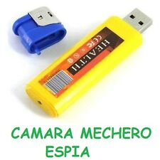 MECHERO CON CAMARA ESPIA oculta grabar video + audio
