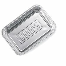 Weber 6415 Small 7-1/2-Inch-by-5-inch Aluminum Drip Pans - Set of 10