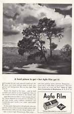 1939 Agfa Film: A Hard Picture to Get Print Ad (19742)