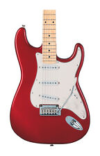 Fender Squier Standard Stratocaster, Candy Apple Red, Maple (NEW)