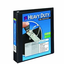 Avery Heavy-Duty View Binder With 1.5 Inch One Touch Ezd Ring - Black - 1 Binder