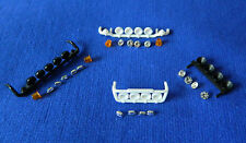 1:50 Scale Tekno Roof Bars, 5 Lamp 2 Beacons Oval & Round, 4 Lamp Round & Oval