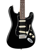 Fender Deluxe Stratocaster Electric Guitar, Black, Rosewood (NEW)