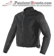 Giacca pelle Dainese Archivio basic moto vintage classic retro cafe racer