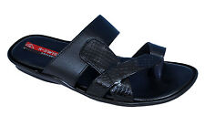 R-Swiss Brand Mens Black Casual Slipper / Sandal 1192
