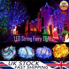 LED String Fairy Lights 2/4/5/10M Battery Operated Xmas Wedding Party Decoration