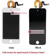 Full LCD Digitizer Glass Screen display assembly for Ipod Touch 6 6th gen A1574