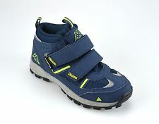 Kappa ACTION TEX Unisex Navy Lime Snowboots Winterstiefel Thermostiefel Outdoor