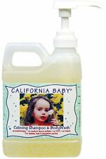 California Baby Calming Baby Shampoo and Body Wash, 17.5-Ounce Bottles (Pack