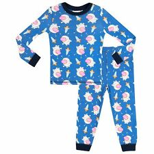 Boys Peppa Pig Pyjamas | George The Pig Pyjama Set | Peppa Pig George PJs | NEW