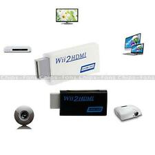 Full HD Wii To HDMI 1080P Upscaling Adapter Converter With 3.5 mm Audio Output