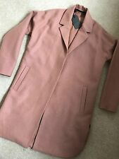 "ALL SAINTS WOMEN'S TERRACOTTA ORANGE ""VINE"" WARM COAT JACKET - SMALL - NEW TAGS"