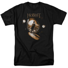 The Hobbit Unexpected Journey Movie Bilbo Hobbit Hole Adult T-Shirt Tee