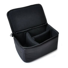 For NIKON CANON SONY Insert Partition Padded Camera DSLR Protection Case Bag