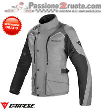 Giacca donna Dainese Tempest D-dry castle-rock nero dark moto touring 4 stagioni