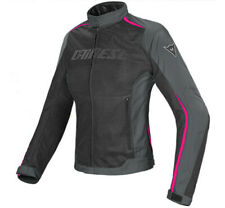 Lady Jacket moto Dainese Hydra Flux D-dry black fucsia  waterproof perforated