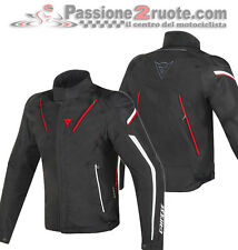 Jacket moto Dainese Stream Line d-dry black red white sport touring
