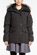 Canada Goose Montebello Parka BLACK Jacket Coat Insulated 2530L NEW warm NWT