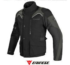 Jacket Dainese Tempest D-dry black dark moto fall winter spring 2 layer
