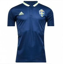 *ADIDAS - SWEDEN POLO SHIRT = SIZE ADULTS