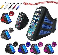"Universal Sports Running Jogging Gym Armband Holder Cover For All Phones 5.5"" UK"