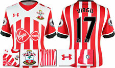 *16 / 17- UNDER ARMOUR;SOUTHAMPTON HOME SHIRT SS + PATCHES / VIRGIL 17 = SIZE*