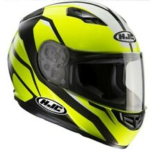 Casco integrale moto Hjc Cs15 Cs-15 Sebka Mc4h Mc-4h nero giallo